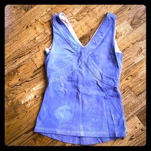Tie dye lulu lemon workout tank